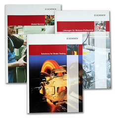 Schenck AG: Verschiedene, mehrsprachige Produktkataloge
