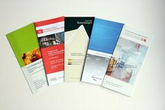 Verschiedene Flyer für unterschiedliche Kunden
