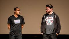 Amitabh Banerji und Johannes Kretzschmar (Foto: Marc Mandel)