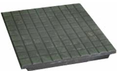 Плитка чугунная (Вес - 10 кг., в 1 кв. м. - 11 шт., материал: не ниже СЧ15)