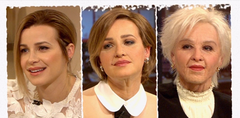 """The Story of My Life"" RTL4  make-up Victoria Koblenko by me, old age prosthetics applied by Rogier Samuels and me"