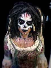 Tia Dalma - Walibi Holland  Halloween Fright Nights