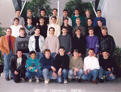 1991 1992 Bac F3