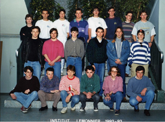 1992 1993 T F1