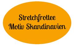 Stretchfrottee Motiv skandinavien