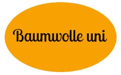 Baumwolle uni