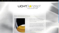 Licht-Konzept