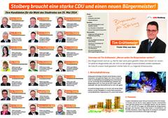 Kandidaten und Interview mit Tim Grüttemeier