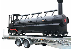 "24"" Triple Door Championship Train Trailer"