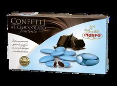 confetti al cioccolato azzurri