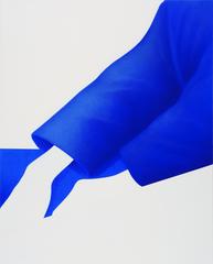 Untitled 2020 Acryl und Öl auf Leinwand  100 x 80 cm