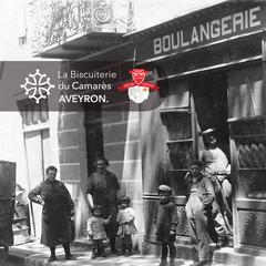 La Boulangerie Cros à Camarès, nos arrières grands-parents.