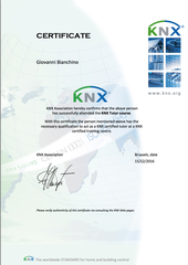 Certificazione KNX Tutor