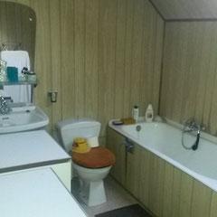 Badkamer voor de renovatie werken