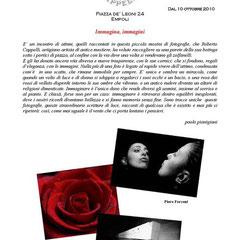 """Empoli 10 Ottobre 2010 Piccola mostra """"Immagina Immagini"""""""