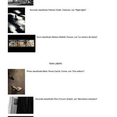 """Concorso Fotografico """"FABBRICA ARTIGIANA DI FOTOGRAFIA"""" Carbonia 2010  2° Classificato TEMA LIBERO"""