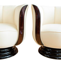 A Pair of Swivel Chairs