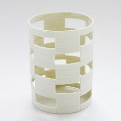 Schnittform, Raster | 2006, H: 94 mm, Limoges-Porzellan