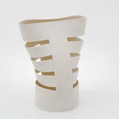 Schnittform, Torso | 2002, H: 200 mm, Limoges-Porzellan