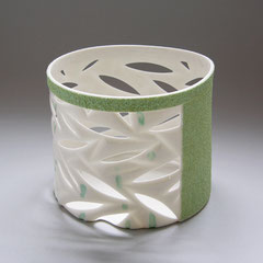 Bambus | 2006, H: 59 mm, D: 107/109 mm, Limoges-Porzellan