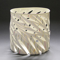 Bambus | 2014, 202 x 230 x 184 cm, Limoges-Porzellan