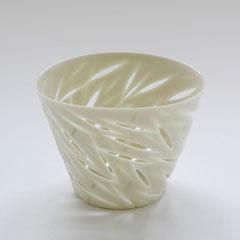 Bambus | Seto Becher | 2006, H: 55 mm, Limoges Porzellan
