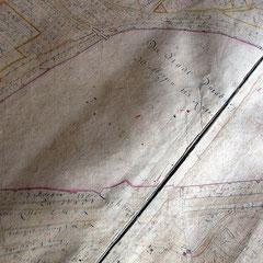 de Lancizolle 1733 Carten von dem Amt Duisburg, Gesamtplan