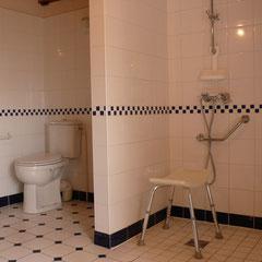 Le WC et la douche