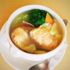 スープ 海老ワンタン