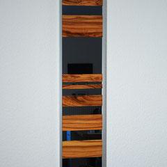 Spiegel 20x110cm mit Olivenholz.