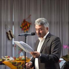Aslan Kizilhan vom Gesellschaft Ezidischer Akademiker