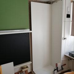 Einbauschrank mit Bulletinboard 2
