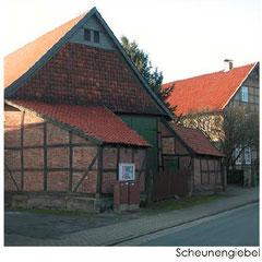Giebel Scheune