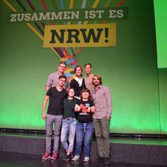 Die Kandidat*innen der Grünen Jugend NRW