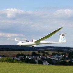 L3 im Landeanflug