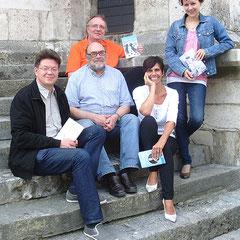 Rolf Stemmle, Kurt Marian Wunder, Martin Stauder, Carola Kupfer und Julia Kathrin Knoll (v. l. n. r.), (Foto: Lichtenegger)