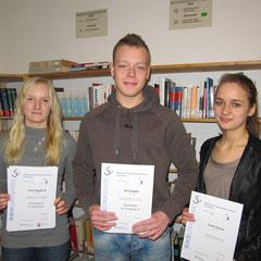v.l.nr.: Tania Bogatsch, Till Templin, Sarah Grimm