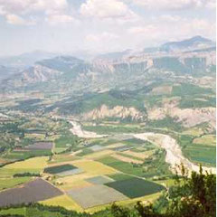 View from the Chabre  crest