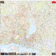 Gesamtansicht Teil 2: Zentrum & Vörstädte, Maßstab 1:10.000