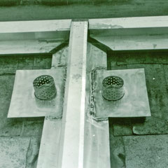 Detail Anschlussbleche Flachdach
