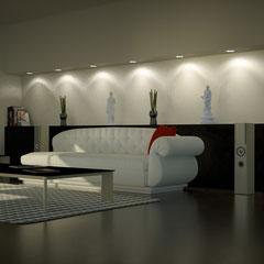 Wohnraum Visualisierung