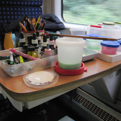 Das mobile Atelier / 01.08.2016 / Dresden - Wroclaw