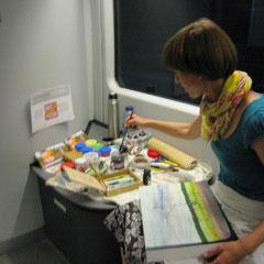 Das mobile Atelier / 08.08.2016 / Wroclaw - Dresden