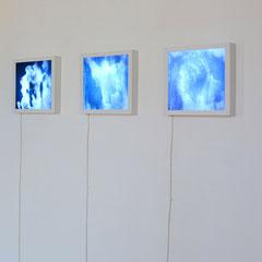 """Ausstellungsansicht, """"Junge 15"""", Kunstverein Mistelbach 2014"""