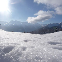 Skigebiet Motta Naluns / Aussicht