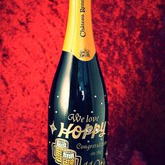 ロゴ入り シャンパン ノベルティ 世界で1つ オーダーメイド 名入れ 格安 オリジナルボトル ワイン 製作 東京