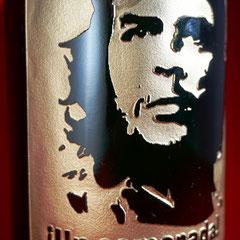 チェ・ゲバラ 写真 ワイン シャンパン  ロゴ入り 世界で1つ オーダーメイド 格安 オリジナルボトル 製作 東京 ノベルティ