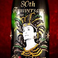 美空ひばり オリジナル ワイン シャンパン 写真入り オーダーメイド 名入れ ロゴ入れ 格安 製作 オリジナルボトル  東京