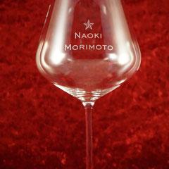 ブルゴーニュ ワイン グラス ロゴ 名前 名入れ オリジナル 世界で1つ オーダーメイド 格安 ギフト オーダー