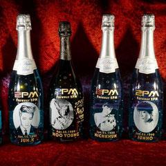 2PM ウヨン ドンぺり オリジナルボトル シャンパン ワイン  オーダーメイド 写真をそのまま ギフト オンリーワン 製作 格安 東京
